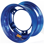 Aero 51-900555BLU 51 Series 15x10 Wheel, Spun, 5 on WIDE 5, 5-1/2 BS