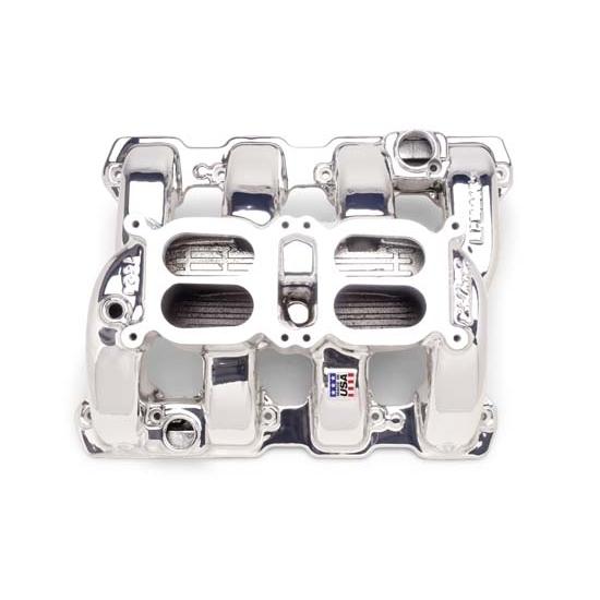 Edelbrock 75284 RPM Air Gap Dual-Quad Intake Manifold