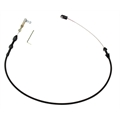 Lokar XTC-1000HT Midnight Series Hi-Tech Throttle Cable, 24 Inch