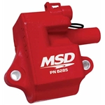 MSD 8285 Multiple Spark Plug Coil for LS1, LS6 Engines, Single