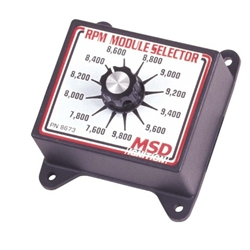 Msd 8673 rpm module rev limiter selector switch 7600 9800 for Rpm motors lincoln ne