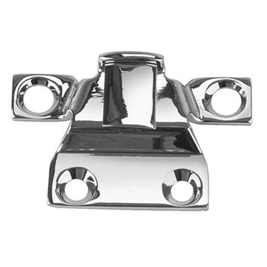 1932 Ford Center Rear Hold Down Clip, Chrome
