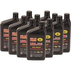 Brad Penn 20W-50 High Performance Engine Oil, 12 Quarts
