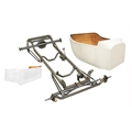 Nostalgia 1923 T-Bucket Frame Kit w/ Deluxe Body/Bed, Unchanneled Floor