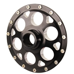 Weld Racing Sprint Midget Magnum 31-Spline Wheel Center, Black Anodized