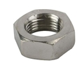 Stainless Jam Nut, 3/8 Inch-24 RH NF Fine Thread