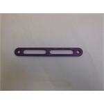 Garage Sale - Lightened Aluminum 7 Inch Straps For Jacobs Ladder, Purple