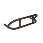 M&W FB-300SB Steel Black Dual Stage Front Racing Bumper