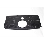Garage Sale - Small Block Chevy Aluminum Rear Motor Plate, Black