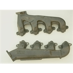 D & R Classic Z00396 Big Block Exhaust Manifolds, Smog, Pair
