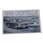 1966 Chevelle Owners Manual