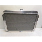 Garage Sale - AFCO Direct Fit 1960-78 Mopar A, B, E-Body Rad, 26 X 22 Inch, Drivers Side Inlet