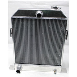 Garage Sale - AFCO 1942-48 Ford Aluminum Radiator, Ford Engine, No Trans Cooler