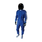 Garage Sale - Finishline Qualifier Racing Suit-One Piece-Single Layer, Blue