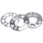 AFCO Billet Aluminum Wheel Spacer, 3/8 Inch Thick