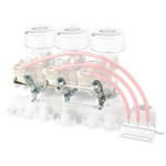 Linkage Kit for Flathead Offy Three Deuce Intake Manifold