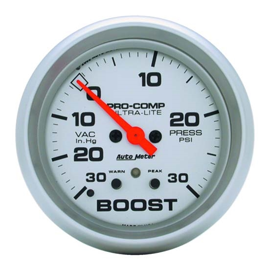 Auto Meter 4477 Ultra-Lite Digital Stepper Motor Boost/Vacuum Gauge