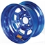 Aero 50-974520BLU 50 Series 15x7 Inch Wheel, 5 on 4-1/2 BP 2 Inch BS