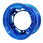 Aero 53-980530BLU 53 Series 15x8 Wheel, BL 5 on WIDE 5, 3 Inch BS IMCA