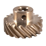 Garage Sale - Crane Bronze Distributor Gear, .484 Shaft, SB Mopar