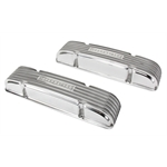Offenhauser S/B Chevy Valve Covers, 1955-59 Staggered, No Oil Fill Hole