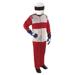 Simpson Red Sportsman Elite Two-Piece Suit, XXL