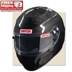 Simpson Carbon Devil Ray SA10 Racing Helmet