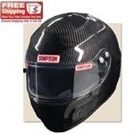 Simpson Carbon Devil Ray SA10 Racing Helmet