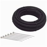 Split Wire Loom Conduit Tubing, 1/2 Inch Diameter, 8 Ft. Long