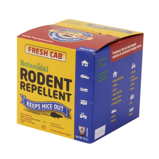 fresh cab rodent repellent 4 pouches ebay. Black Bedroom Furniture Sets. Home Design Ideas