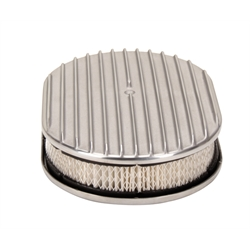 12 Inch Full Finned Oval Air Cleaner