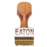 67-69 Rubber Stamp for Fan Clutch, Straight, EATON