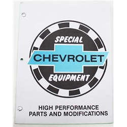 MBI Publishing 101219A Chevrolet Special Equipment Manual