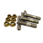 TI64 175 Titanium Torque Tube Stud Kit, Sprint Racing