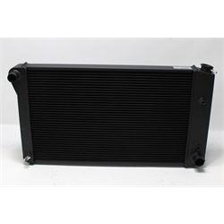 Garage Sale - AFCO Direct Fit 1967-79 GM Radiator, Black Finish, With Transmission Cooler