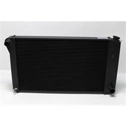 Garage Sale - AFCO Direct Fit 1967-79 GM Radiator, Black Finish, With Transmission Cooler