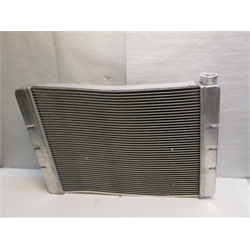 Garage Sale - Speedway Double Pass Aluminum Radiator, Chevy, 28 Inch