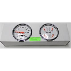 Garage Sale - Auto Meter 1303 Arctic White Quad Gauges