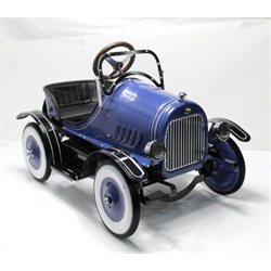 Garage Sale - Model A Roadster Pedal Car, Blue