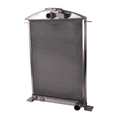 AFCO 1936 Ford Aluminum Radiator, Chevy Engine