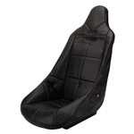 EMPI 62-2310 High Back Bucket Seat Cover, Black w/Square Pattern, Each