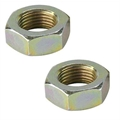 Steel Jam Nuts, 11/16 Inch-18 NF Fine Thread, Pack/6
