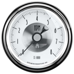 Auto Meter 2098 Prestige Pearl Air-Core In-Dash Tachometer Gauge