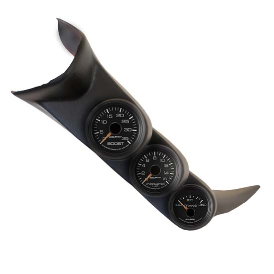 Auto Meter 7086 2001-06 Chevy Duramax Triple A-Pillar Gauge Kit