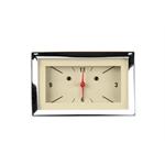 Classic Instruments CH57CLT Dash Clock, Tan Face, 1957 Chevy