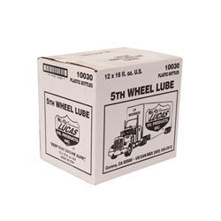 Lucas Oil 10030 5th Wheel and Slider Lube, Case of 12