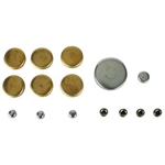 Small Block Ford 302-351W Brass Freeze Plug Set