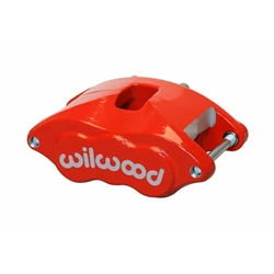 Wilwood 120-10938-RD D52 Dual Piston Floater Caliper, 1.25 / 1.28 Inch