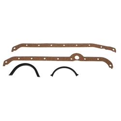 Speedway Small Block Chevy Oil Pan Gaskets, RH Side Dipstick