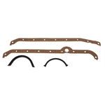 Super Seal Small Block Chevy Oil Pan Gaskets, Right Hand Side Dipstick